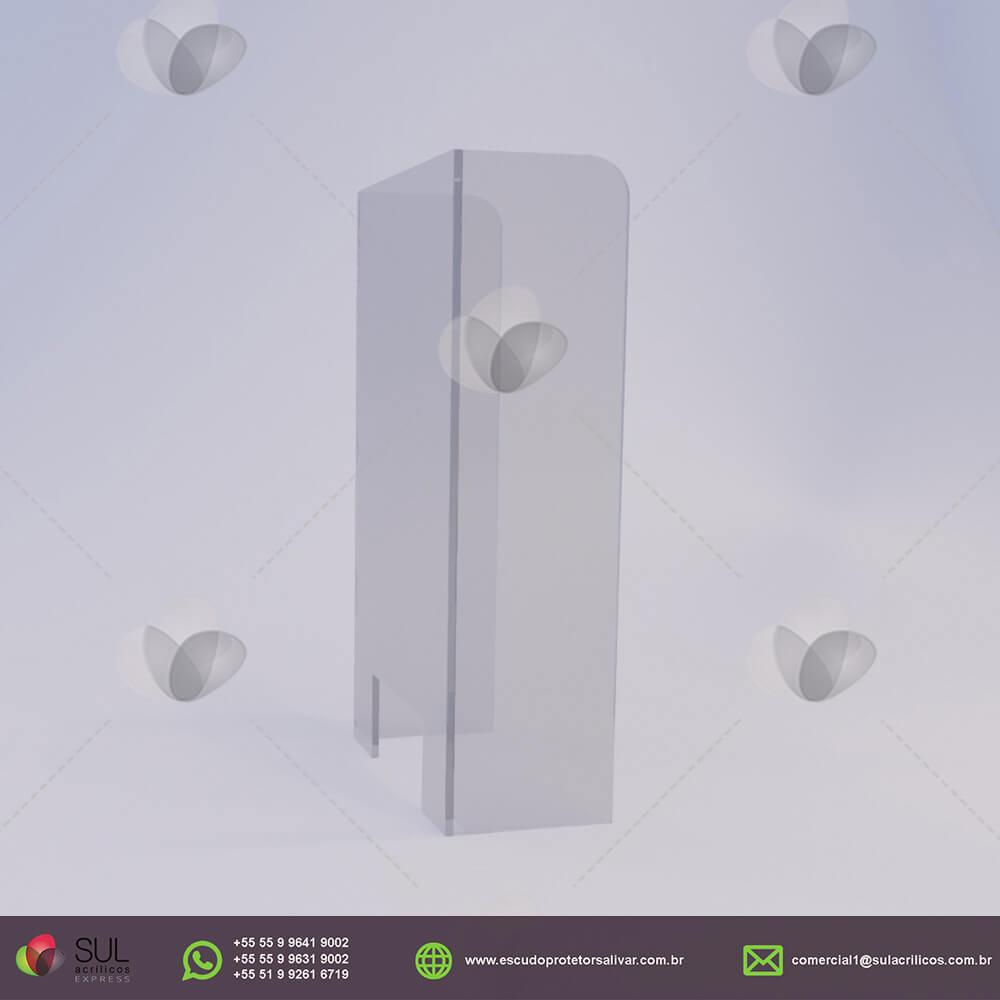 Barreira de Proteção para Caixa  de Loja de Conveniência
