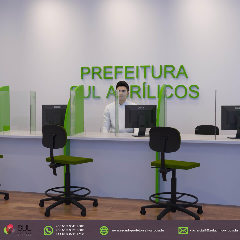 ÓRGÃO PÚBLICO - Escudo Protetor Salivar
