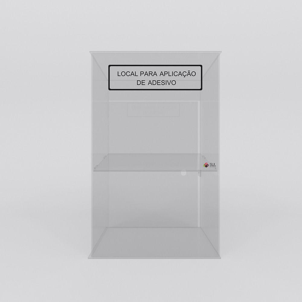 Display expositor em acrílico para acessórios de celular - Modelo Smart  torre sem testeira