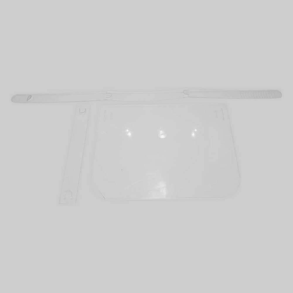 Face Shield Protetor Facial em Acrílico - Mod. Pró - Kit c/ 10