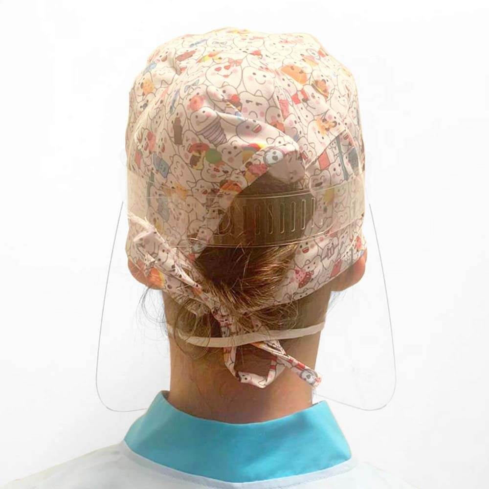 Face Shield Protetor Facial em Acrílico - Modelo Pró