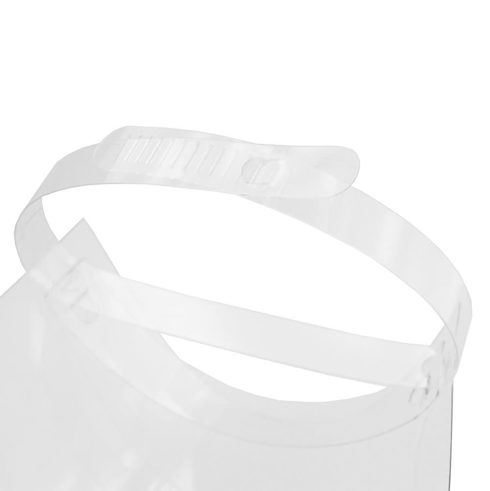 Face Shield Protetor Facial em Acrílico - Mod. Light - Kit c/ 100