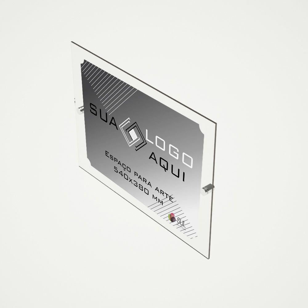 Letreiro, Placa, Fachada 66x50 cm