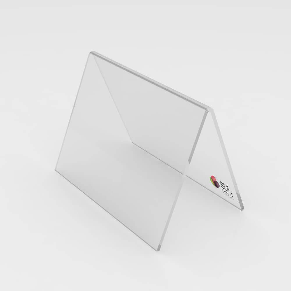 Marcador de Mesa Cavalete - Pequeno - 10 Unidades