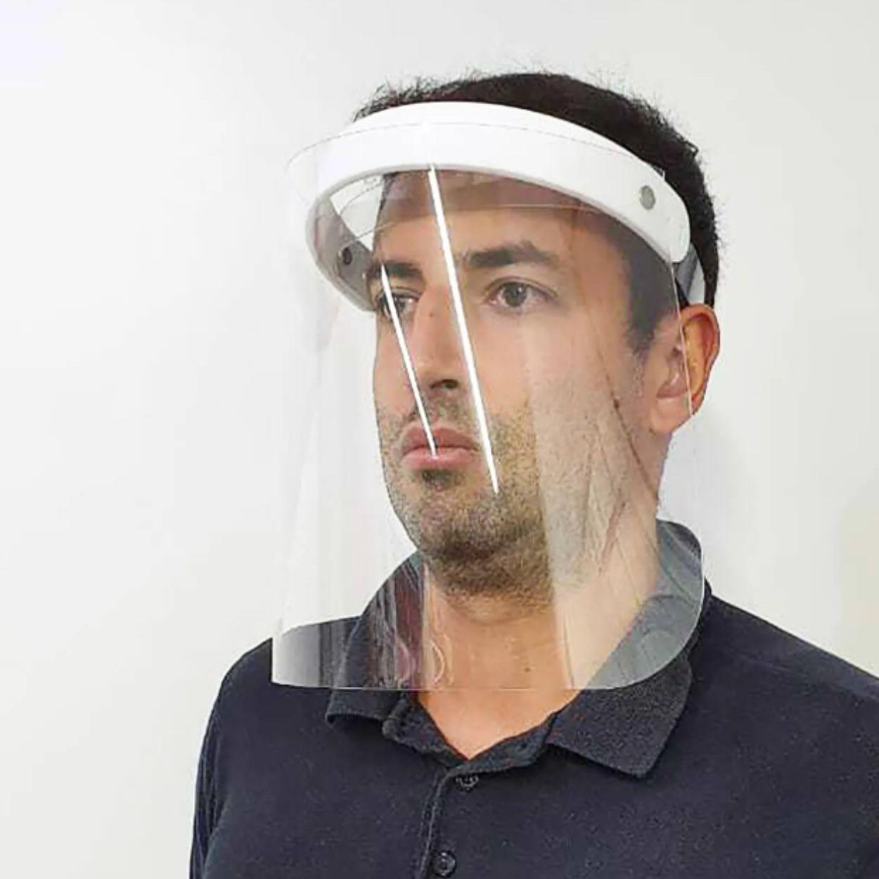 Protetor Facial Total Face Shield Premium