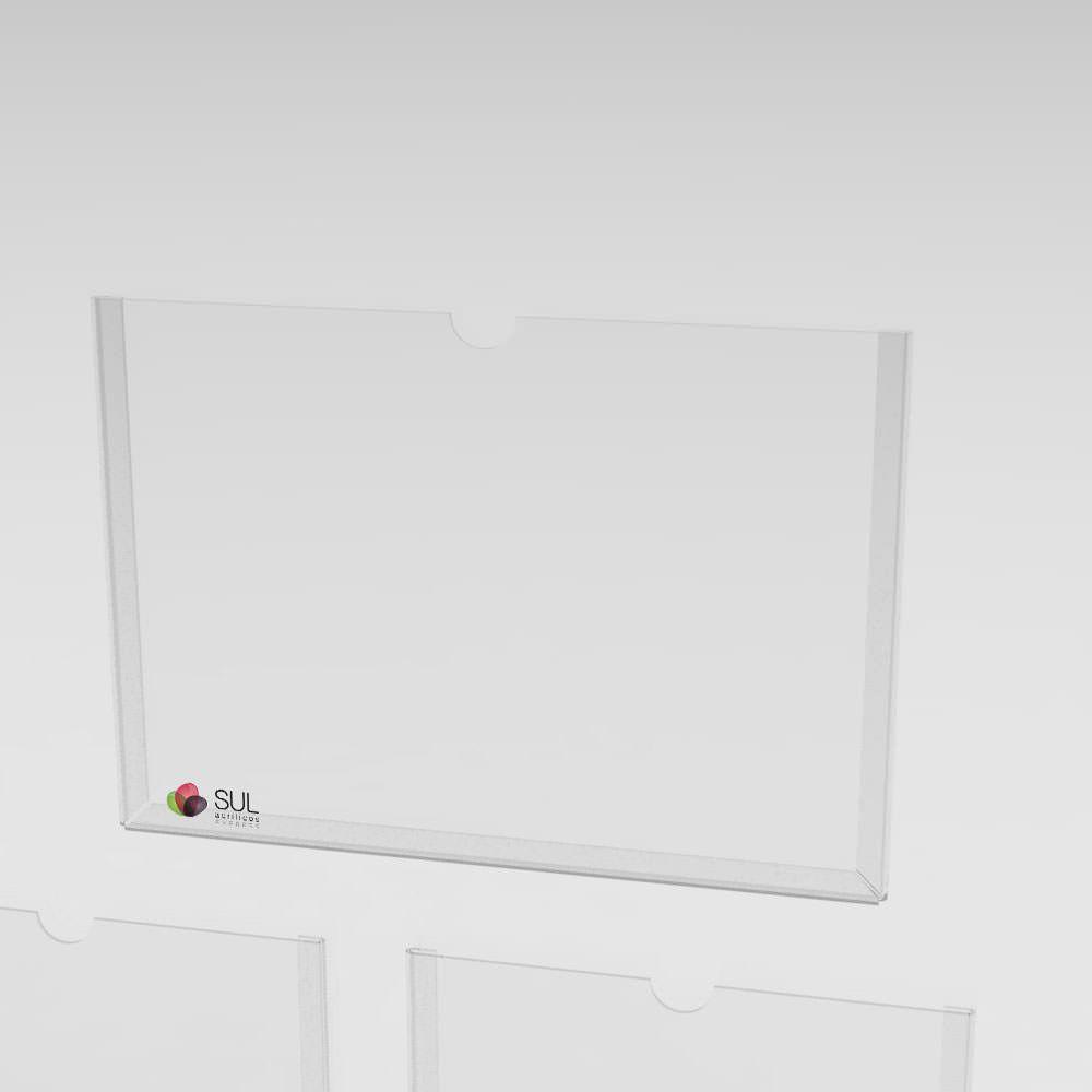 Mural - Gestão a Vista com 3 bolsos A4 retrato e 2 bolsos A4 paisagem
