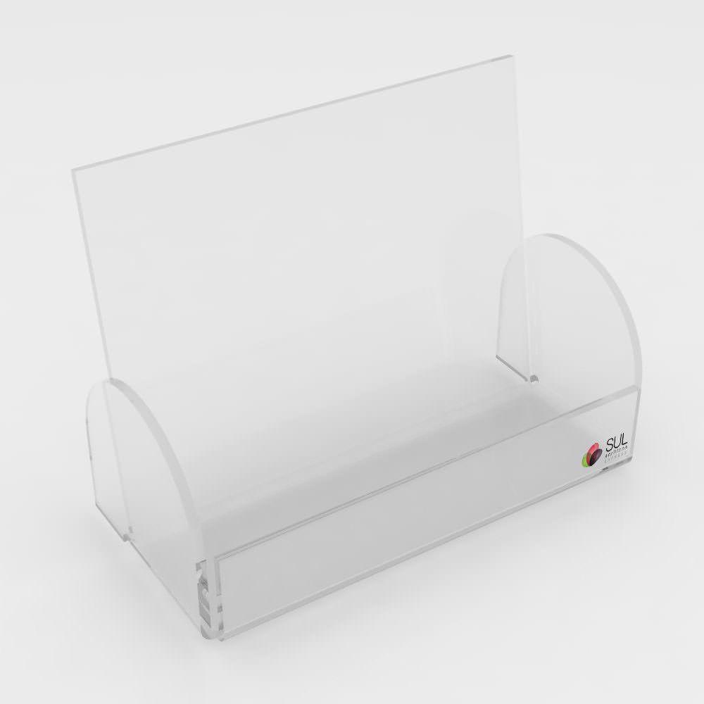 Porta Cartão com Laterais - Pacote com 10 Unidades