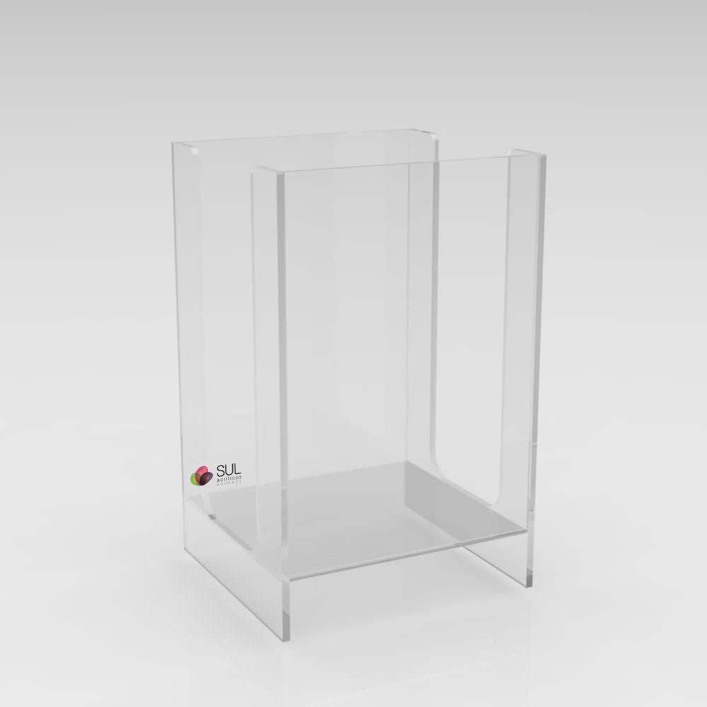 Porta Guardanapos para Folha 14x13cm - G - Pacote com 5 Unidades