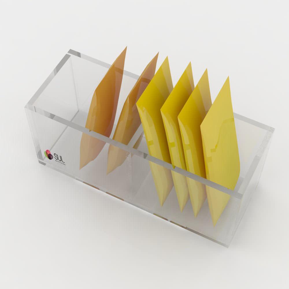 Porta Sachês 2 Divisões - Pacote com 5 Unidades