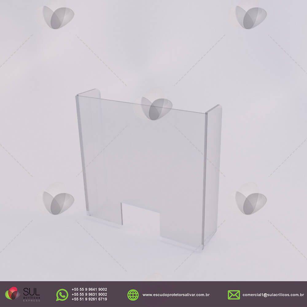 Barreira de Proteção para Mesas de Órgãos Públicos  - Kit com 10