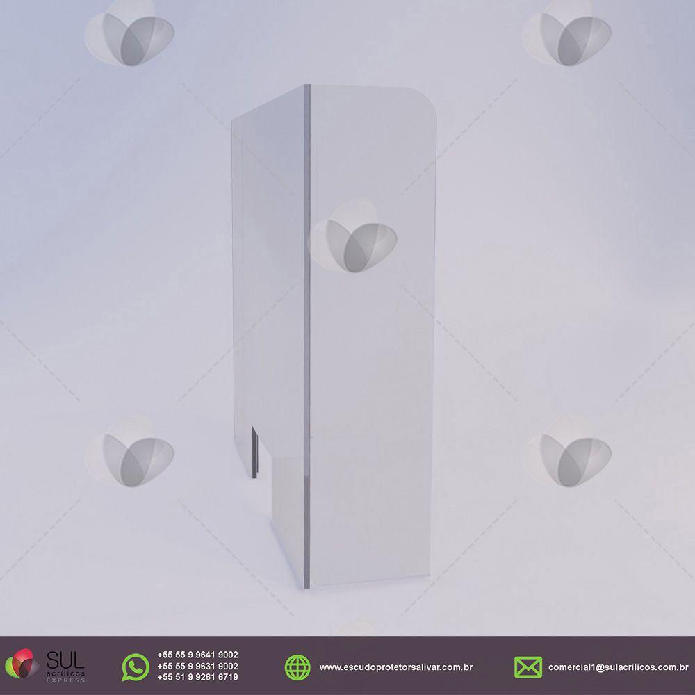 CONVENIÊNCIA - Escudo Protetor Salivar para 2 caixas