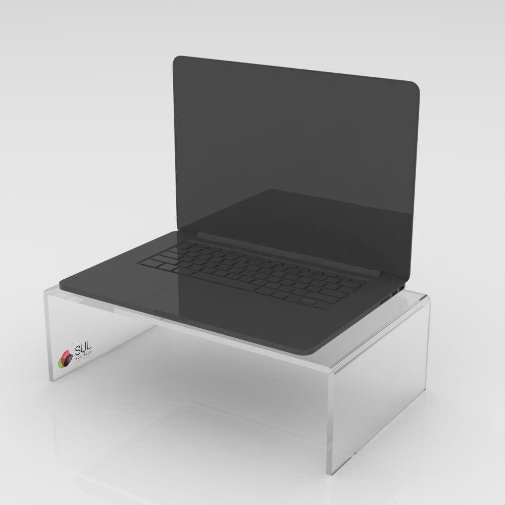 Suporte ergonômico base elevada para notebook ou monitores LCD/LED - M