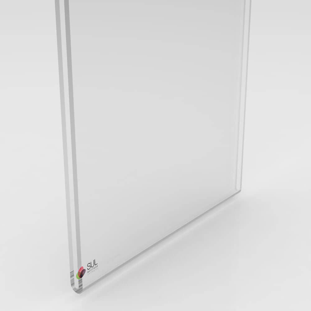 Display sanduíche dobrado porta folha A6 vertical