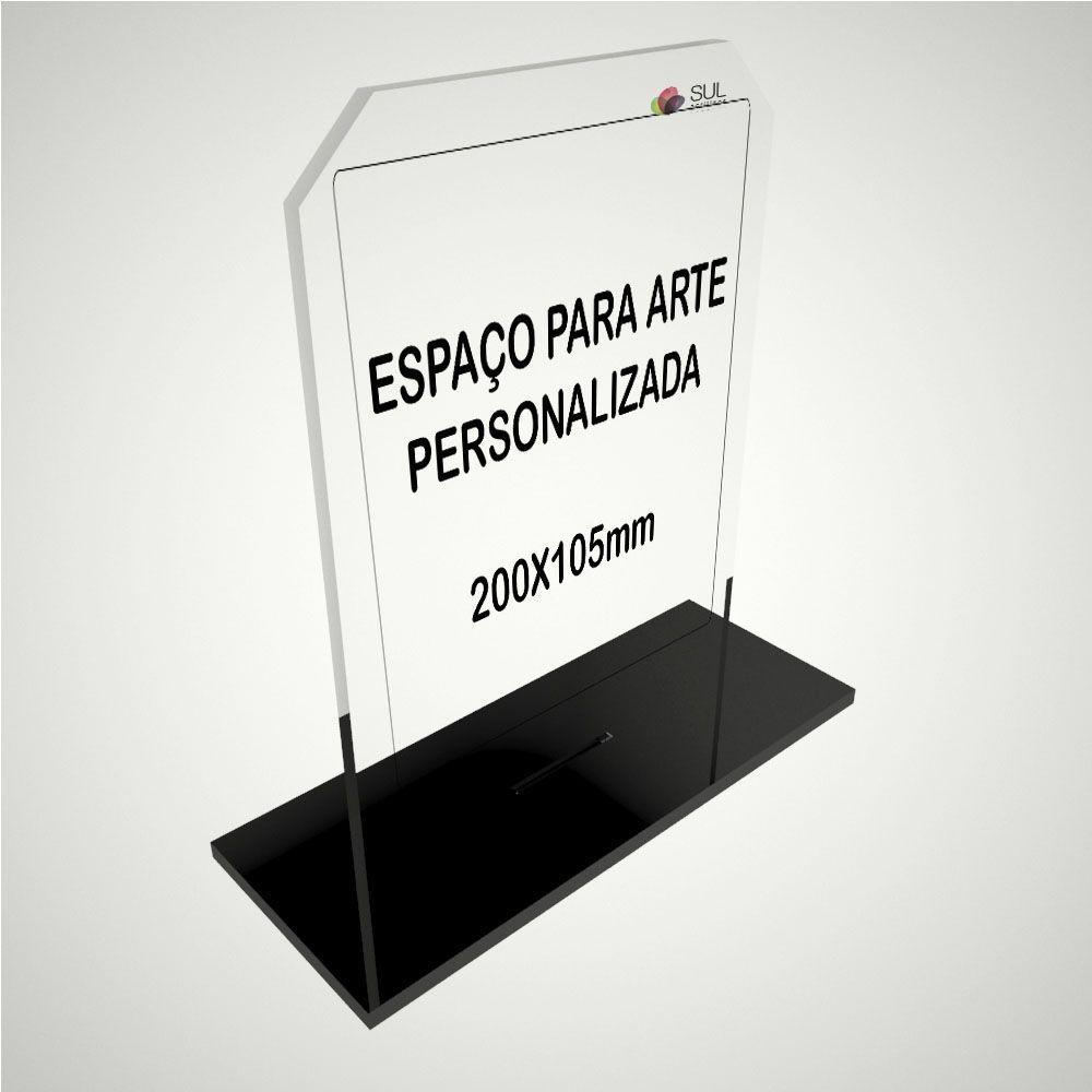 Troféu personalizável em acrílico para premiações de eventos e campeonatos - Classic Vertical