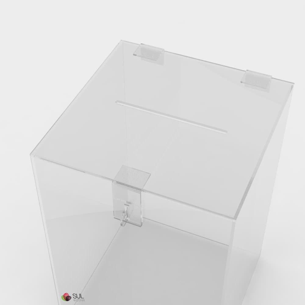Urna Quadrada - Pequena