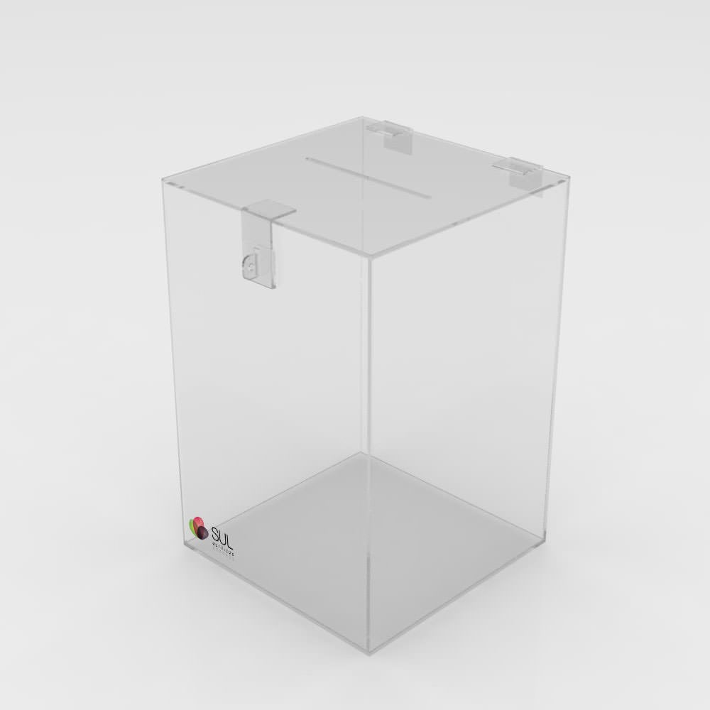 Urna Cubo - Pequena - Venda Unitária
