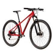 Bicicleta Groove Riff 50 SR 1/11 Sram 2018 Rock Shox Vermelha