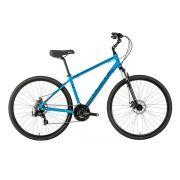 Bicicleta Groove Urbana Blues Azul 2018 Aro 700 Freio a Disco 21V