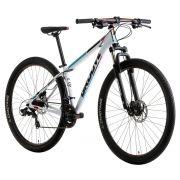 Bicicleta Groove Zouk Aro 29 Freio a Disco 21V Branco