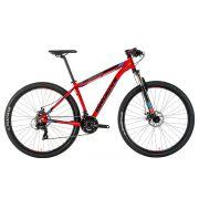 Bicicleta Groove Zouk Aro 29 Freio a Disco 21V Vermelha