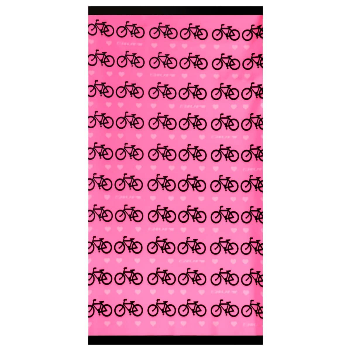 Bandana Hupi Love Bikes Rosa