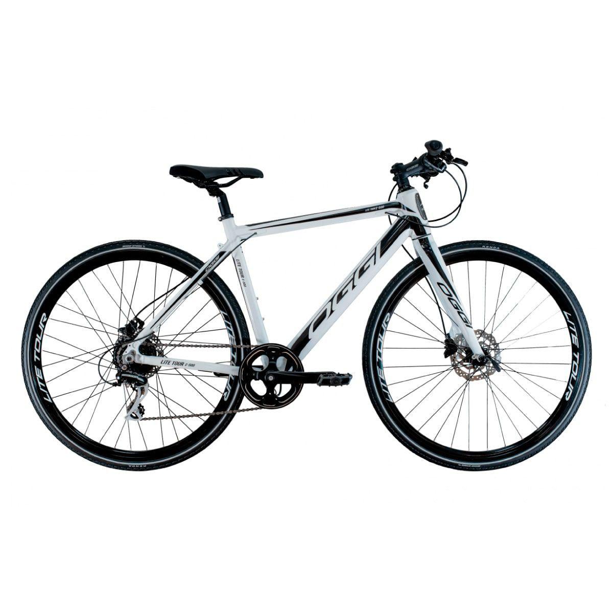 Bicicleta Elétrica Oggi Lite Tour E-500 Branca
