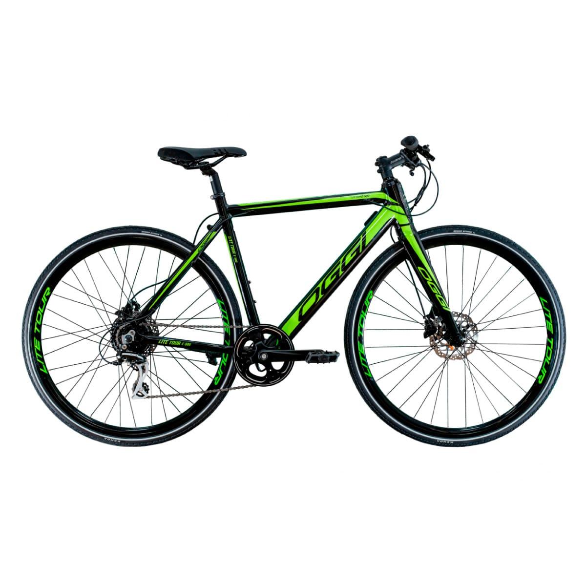 Bicicleta Elétrica Oggi Lite Tour E-500 Verde