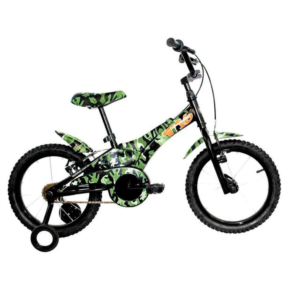 Bicicleta Groove Aro 16 Camuflada Verde