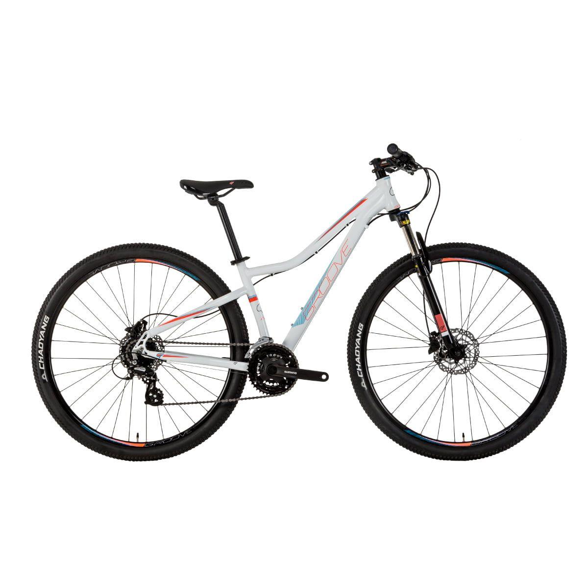 Bicicleta Groove Indie 2019 Aro 29 Hidráulico 21V Branca