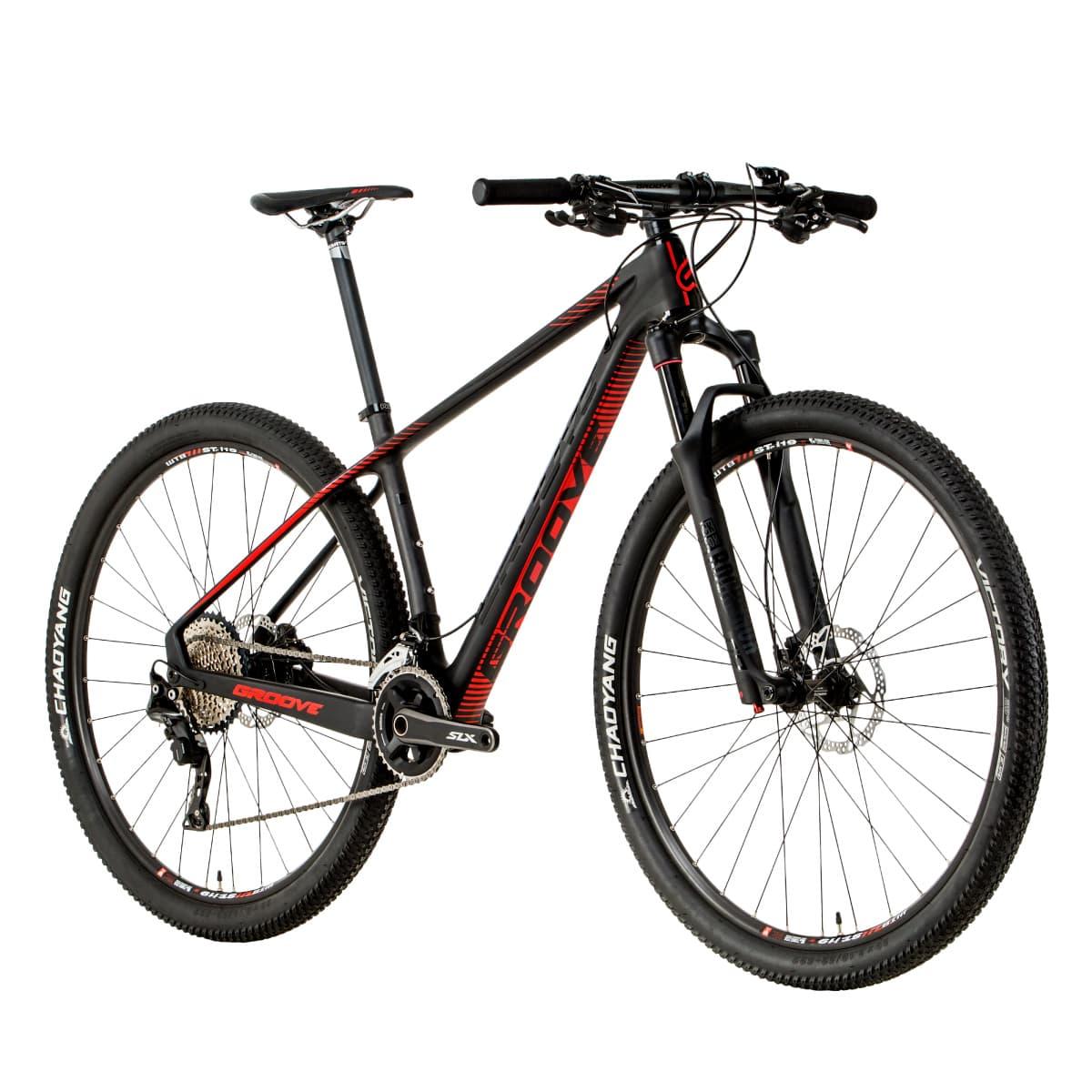 Bicicleta Groove Rhythm 90 2018 Carbon XT/SLX Rock Shox