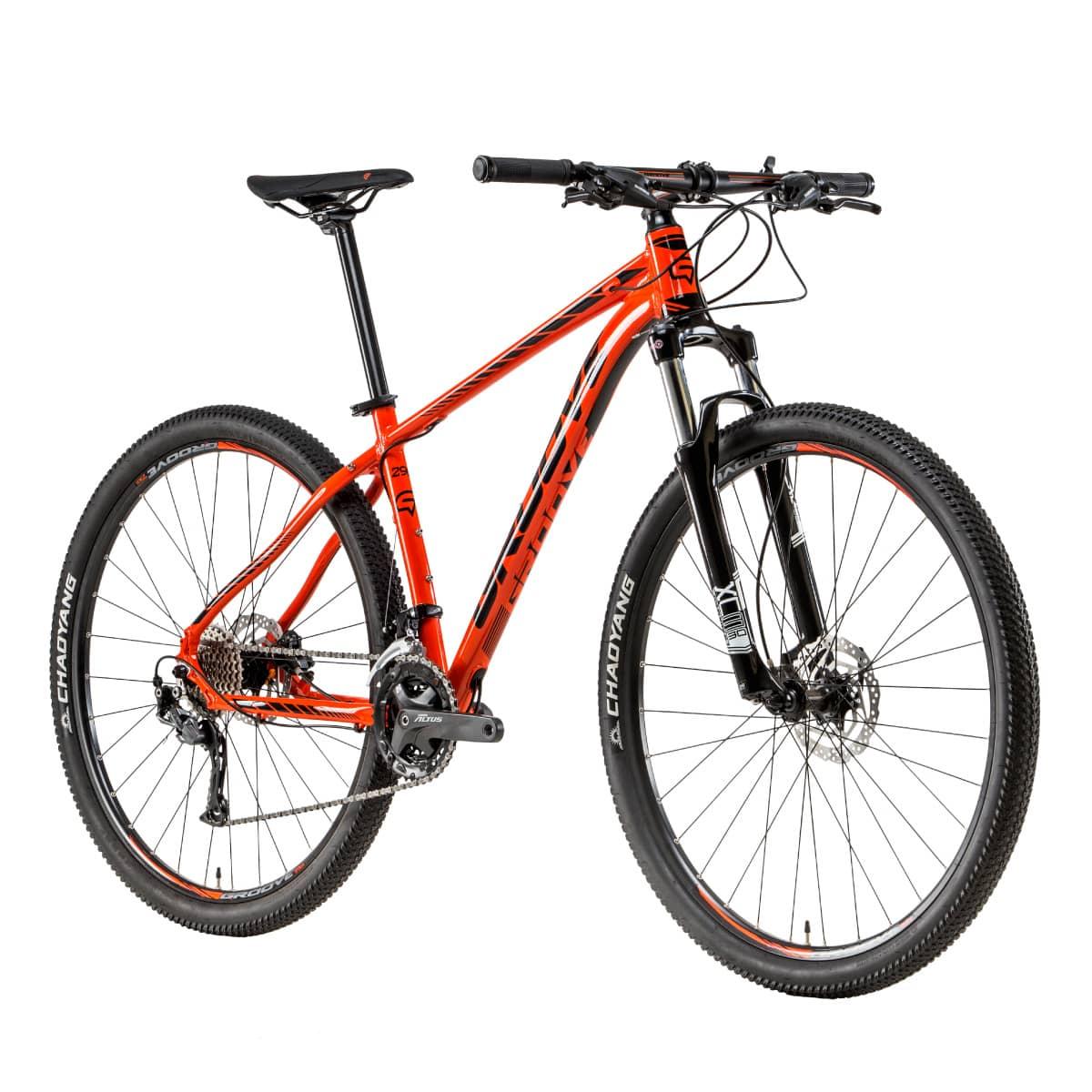 Bike Groove SKA 70 2019 27V Hidráulico Laranja