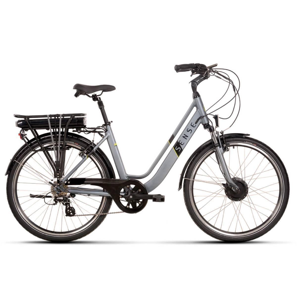 Bike Elétrica Sense Breeze 2020 Shimano 8v Aro 26
