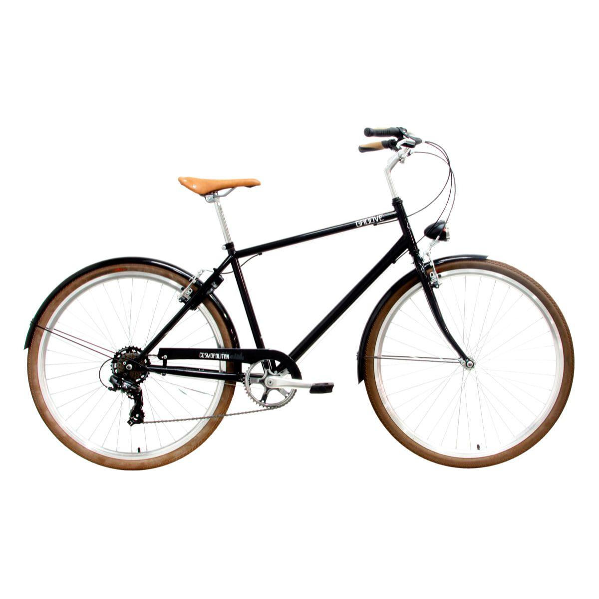 Bike Groove Cosmopolitan 7v 2019 Masculina Preta