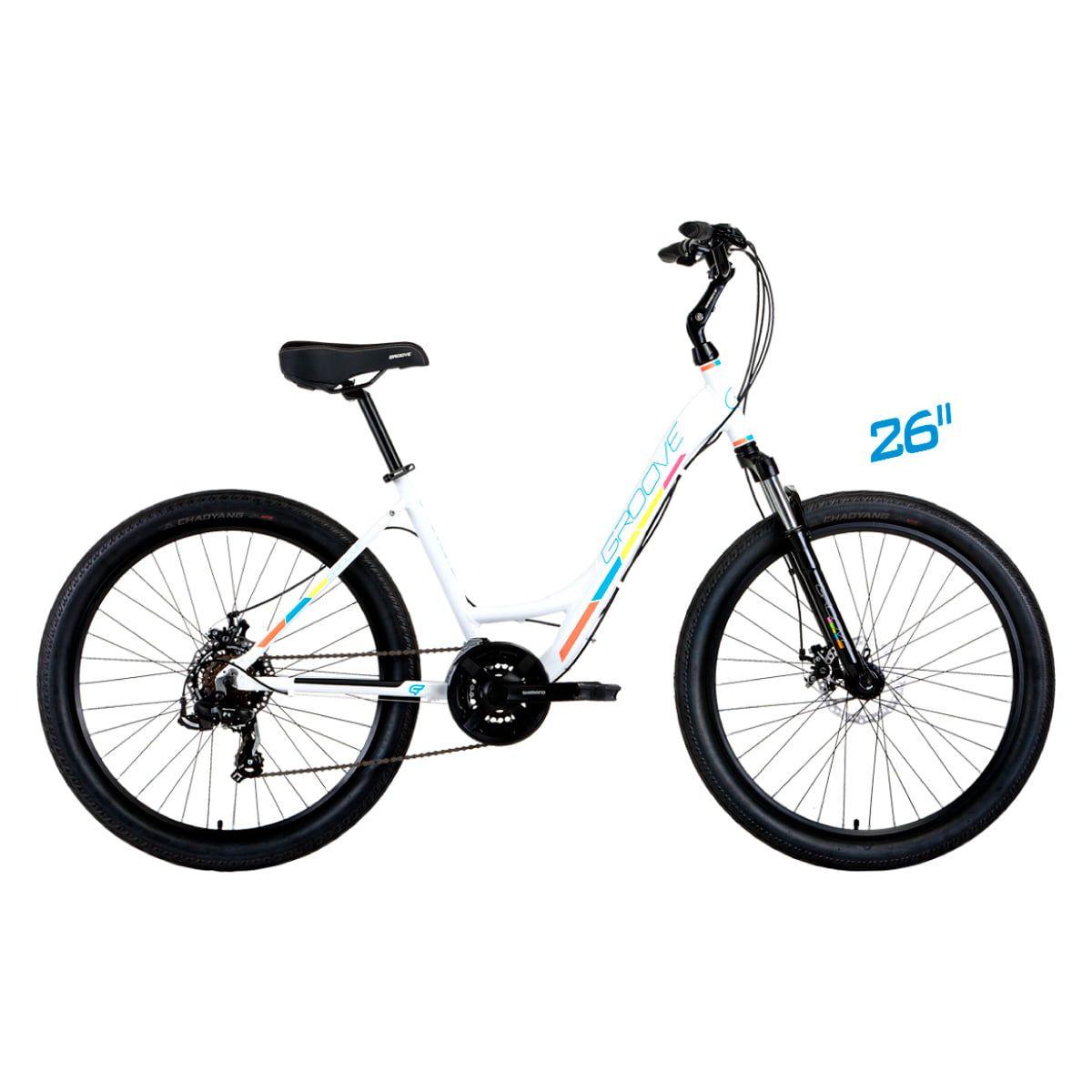 Bike Groove Dubstep 2019 Branca 21v Aro 26