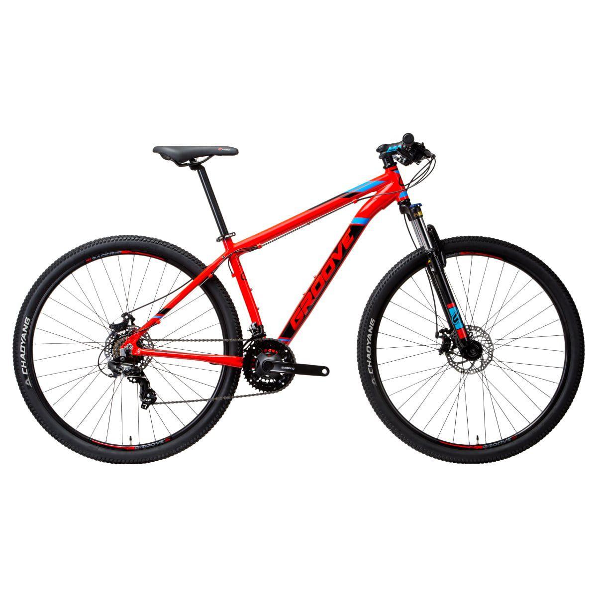 Bike Groove Zouk 2019 Aro 29 Freio a Disco 21V Vermelha