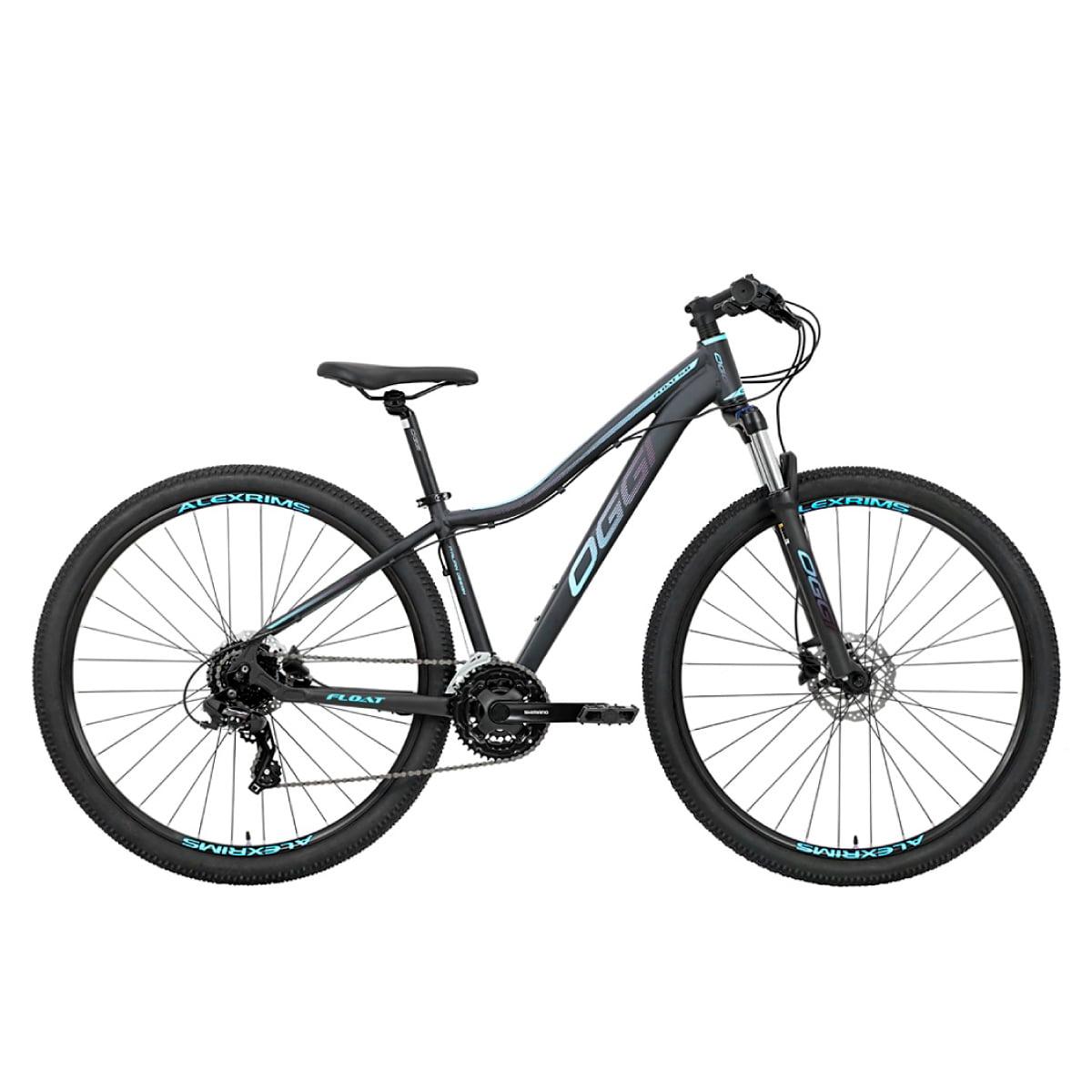 Bike Oggi 2021 Float 5.0 Hds Shimano Tourney Cinza E Azul