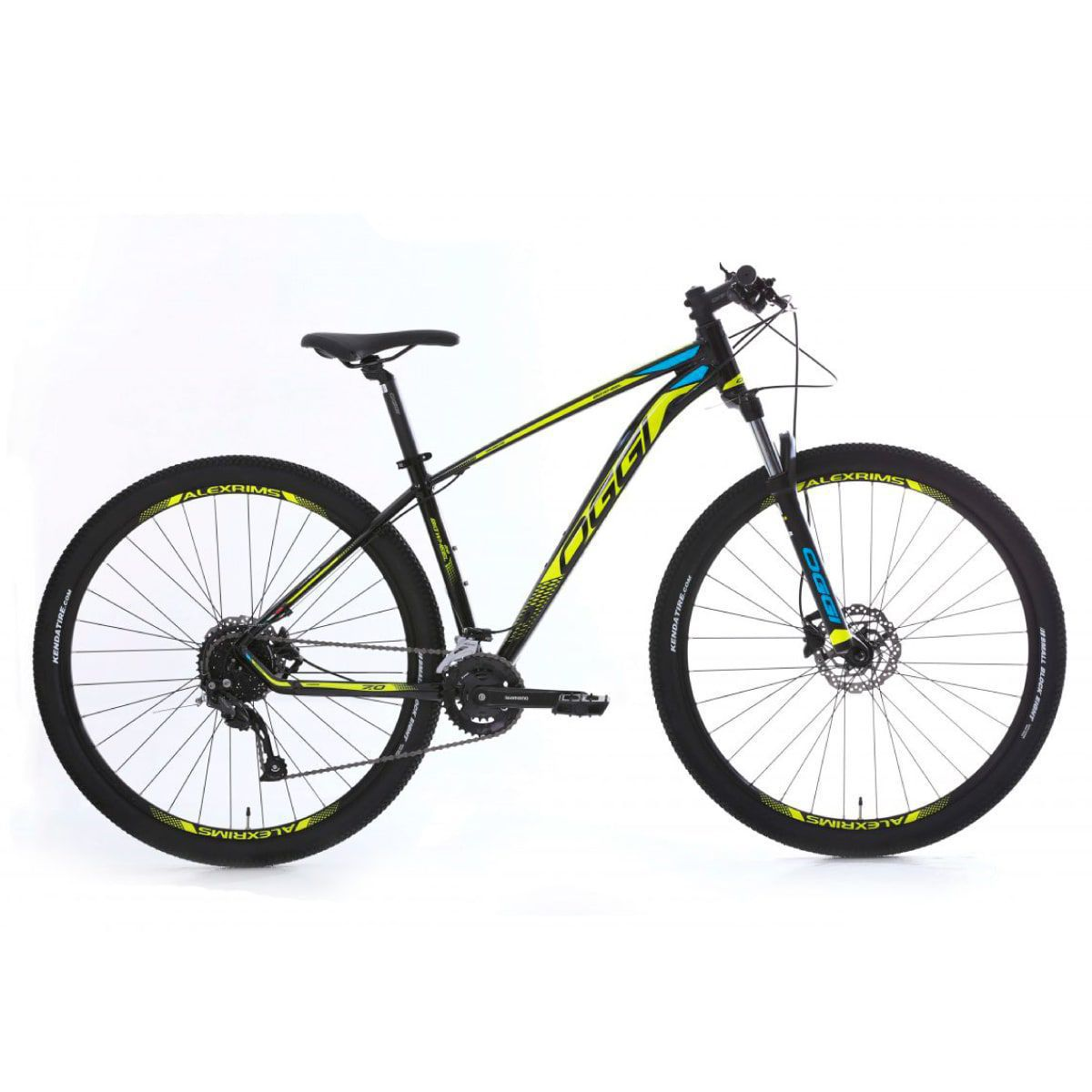Bike Oggi 7.0 2020 Big Wheel Original 18v Shimano Hidráulico