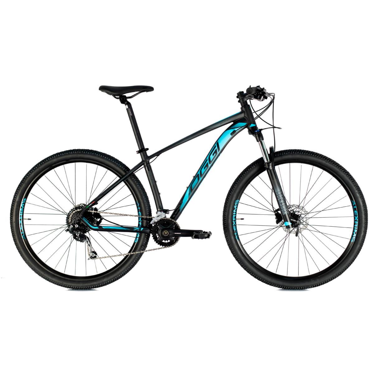Bike Oggi 7.1 2021 BiG Whell Original 18 V Preto Azul
