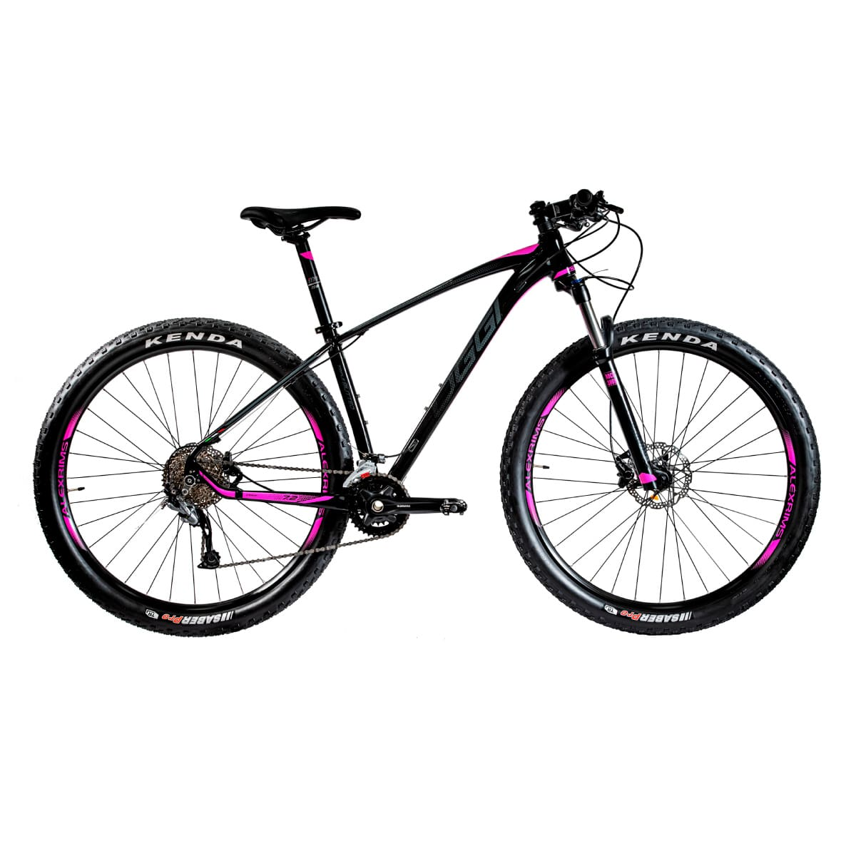 Bike Oggi 7.2 2020 Big Wheel 18V Shimano Alívio Original