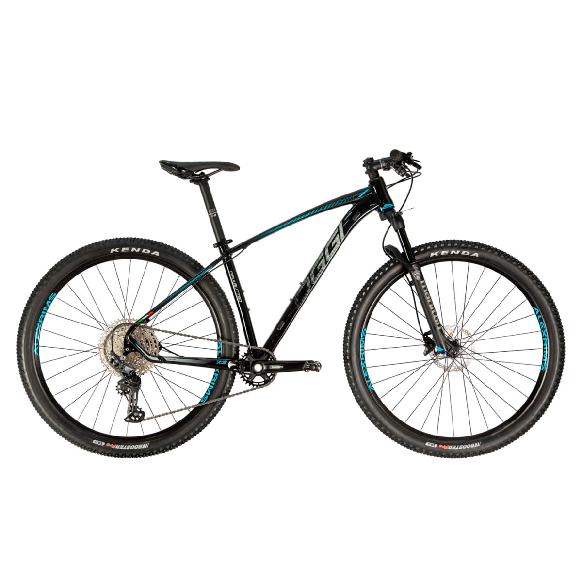 Bike Oggi 7.3 2021 Big Wheel Shimano Deore 12v Preto Azul
