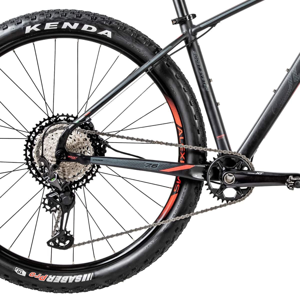 Bike Oggi 7.6 2020 Big Wheel Shimano XT 10-51 Original