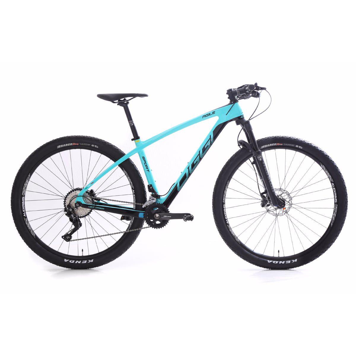Bike Oggi Agile Sport Carbono 2019 Shimano Deore