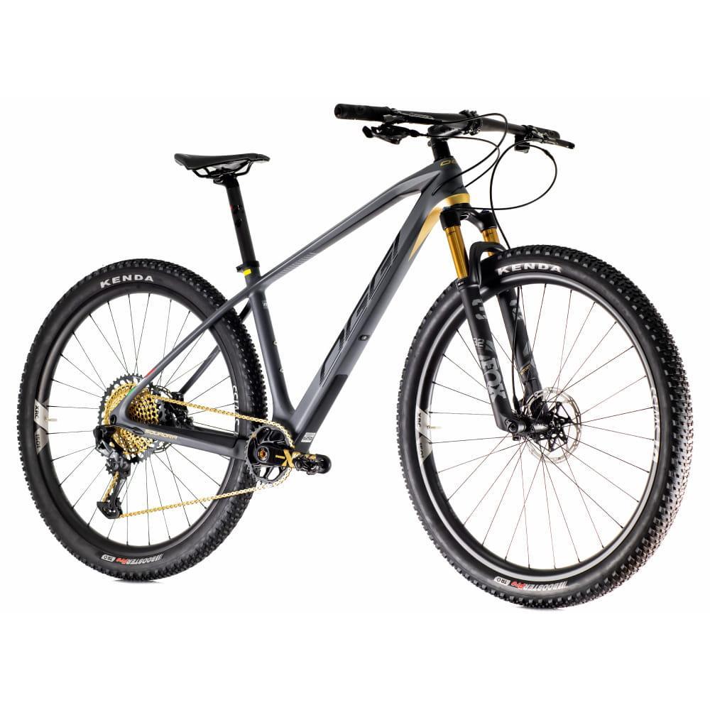 Bike Oggi Agile Squadra 2021 12v SRAM XX1 Eagle Cinza Preto