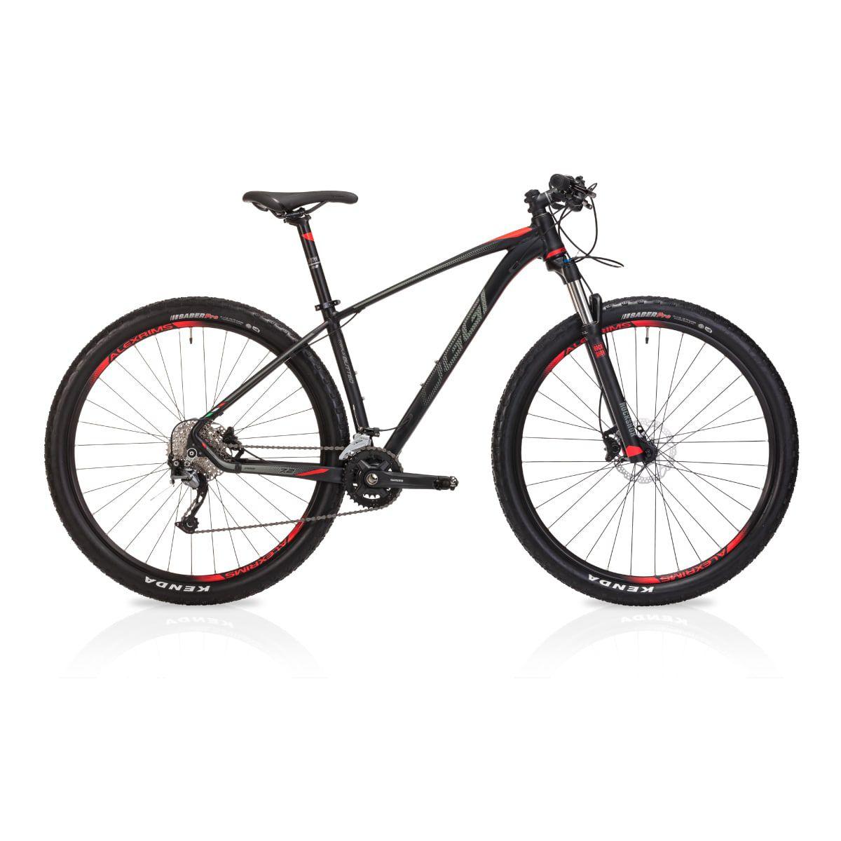 Bike Oggi Big Wheel 7.2 2019 18V Cabos Internos Alívio