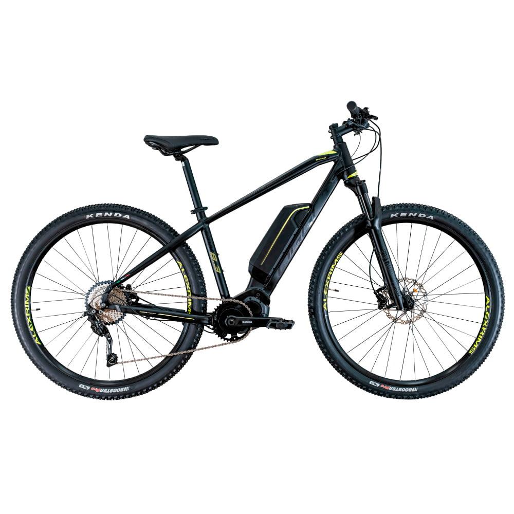 Bike Oggi Big Wheel 8.3 Shimano Deore 11 velocidades Preto e Amarelo