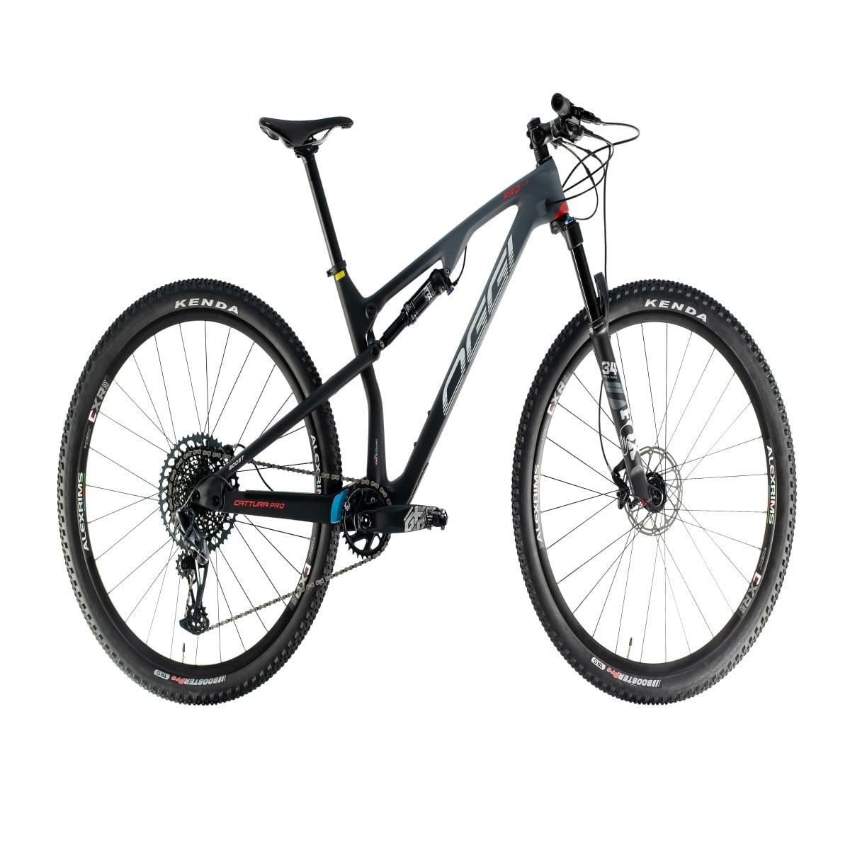 Bike Oggi Cattura Pro  T-20 2021 Carbono Sram GX Preto Cinza