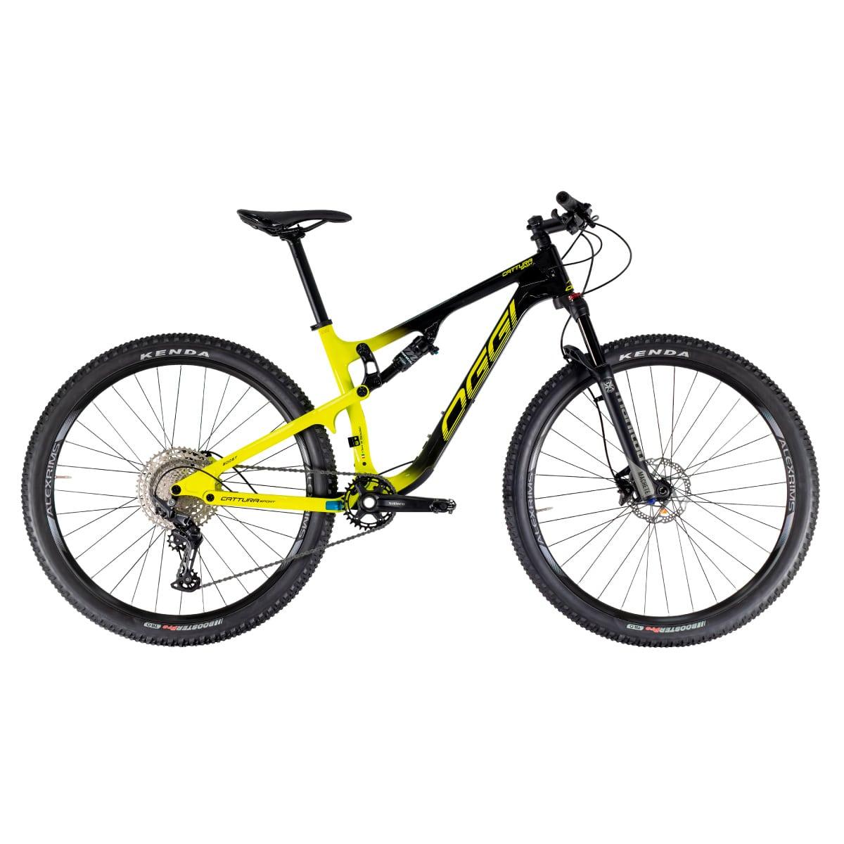 Bike Oggi Cattura Sport 2021 Shimano Deore Preto e Amarelo