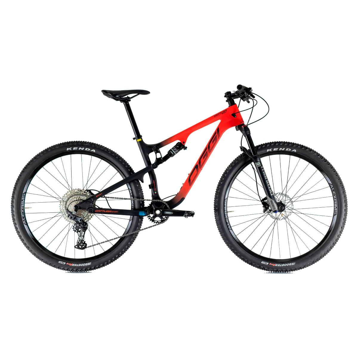 Bike Oggi Cattura Sport 2021 Shimano Deore Preto e Vermelho