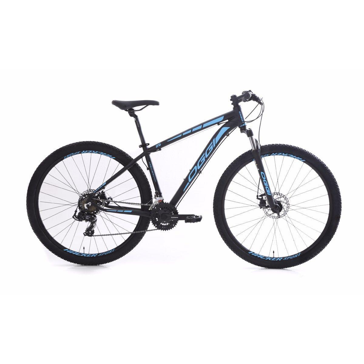 b518500e3 Bike Oggi Hacker Sport 2019 21v Freio a Disco Shimano - Life Pedal ...