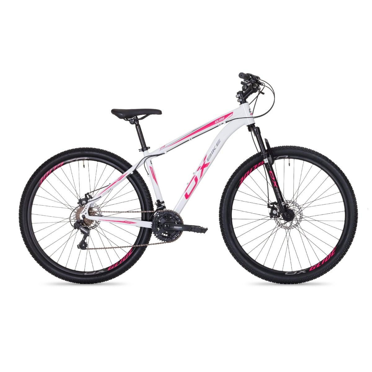 Bike Oggi OX Glide 2020 21v Shimano Branco Magenta